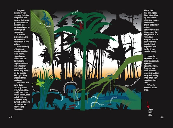 Spread from Pinhole and the Expedition to the Jungle