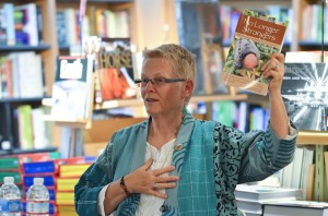 Wendy Taylor, author of No Longer Strangers, speaks at Books, Inc., Palo Alto