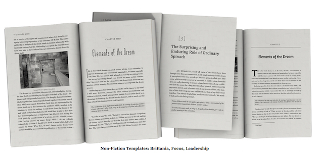 book formatting templates